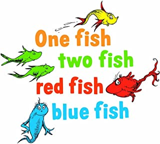one fish two fish wall decals
