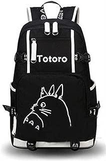 YOYOSHome Luminous Anime My Neighbor Totoro Cosplay Bookbag Laptop Bag Backpack School Bag