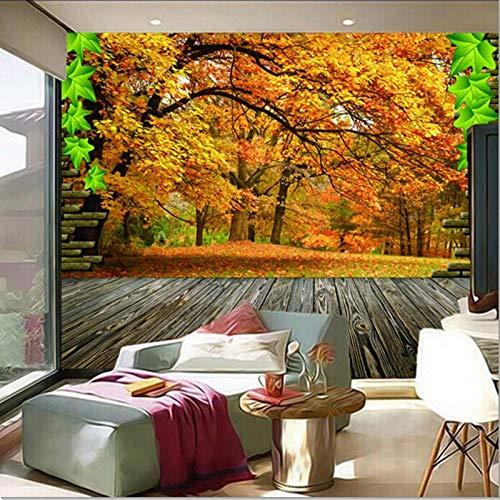 MIYCOLOR I murales 3D personalizzati, i murales in acero naturale paesaggio 3D papel de parede, il divano del soggiorno TV la carta da parati della camera da letto-300x210