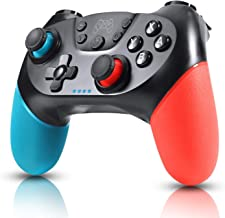 Zexrow Controller per Nintendo Switch, Wireless Bluetooth Switch Pro Controller, Switch Joystick Gamepad con Turbo Regolab...