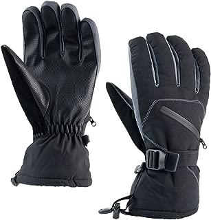 QBSM Ski Gloves Waterproof Breathable Snowboard Gloves Warm Winter Snow Gloves, Fits Both Men & Women
