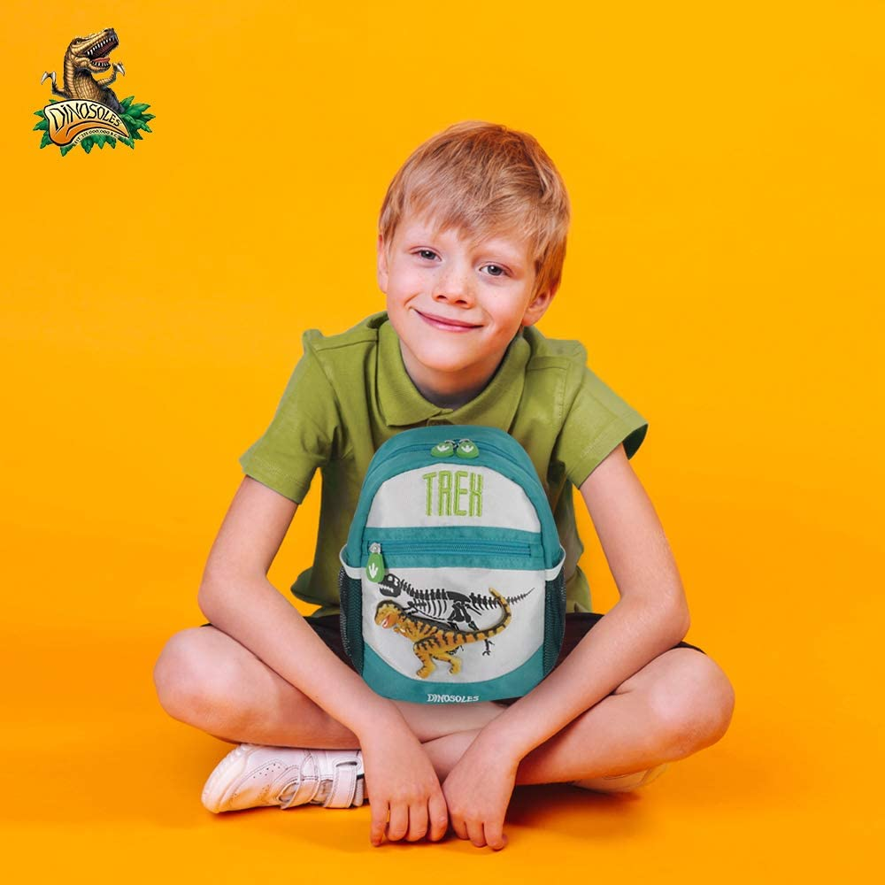 Dinosoles Dinosaurs 3D Character Backpack for Kids Children Toddler Boys /& Girls