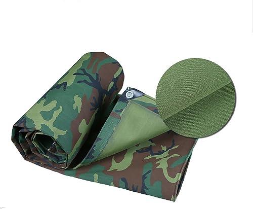 DLDL Grande bache de Camouflage Heavy Duty Waterproof 3 m Petite Feuille de bache épaissie Toile antipluie de Pluie Tente d 'épissure de bache de Sol Couvre la Toile de Hangar (Taille   3  5m)