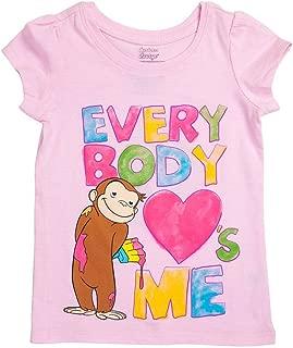 Girls' Everybody Loves Me Pink Girls T-Shirt