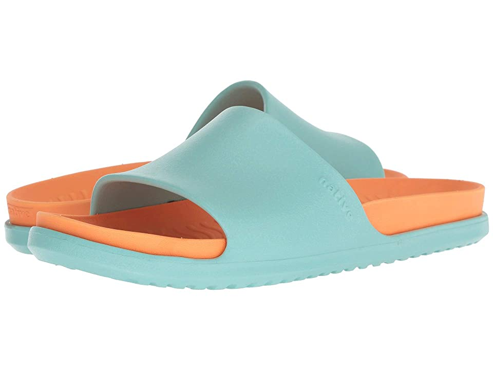 Native Shoes Spencer LX (Sherbert Blue/Lazer Orange) Sandals