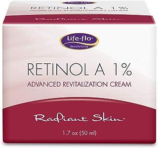 كريم رتينول 1% للتجاعيد والخطوط Life Flo Health Retinol A 1% Advanced Revitalization Cream 50 ml
