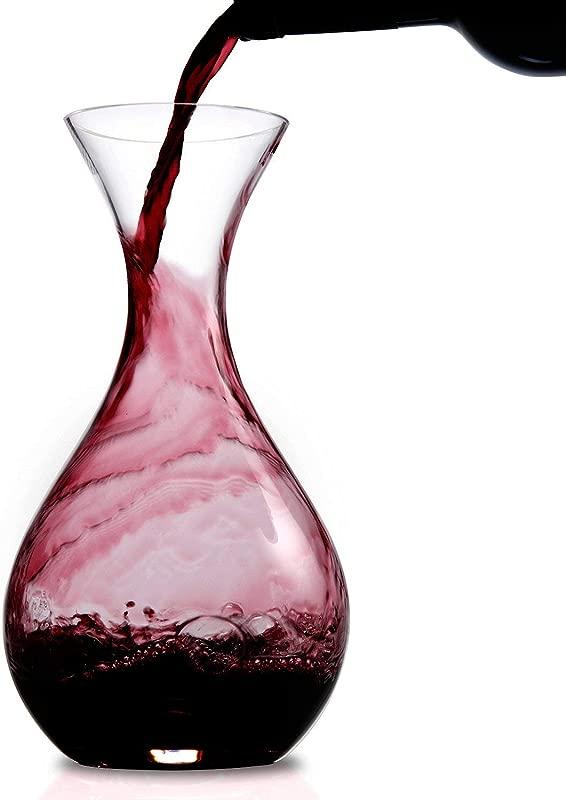 Wine Enthusiast U Wine Decanter