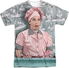 I Love Lucy Family Comedy Sitcom TVShow Chocolate Belt Adult Front Print T-Shirt