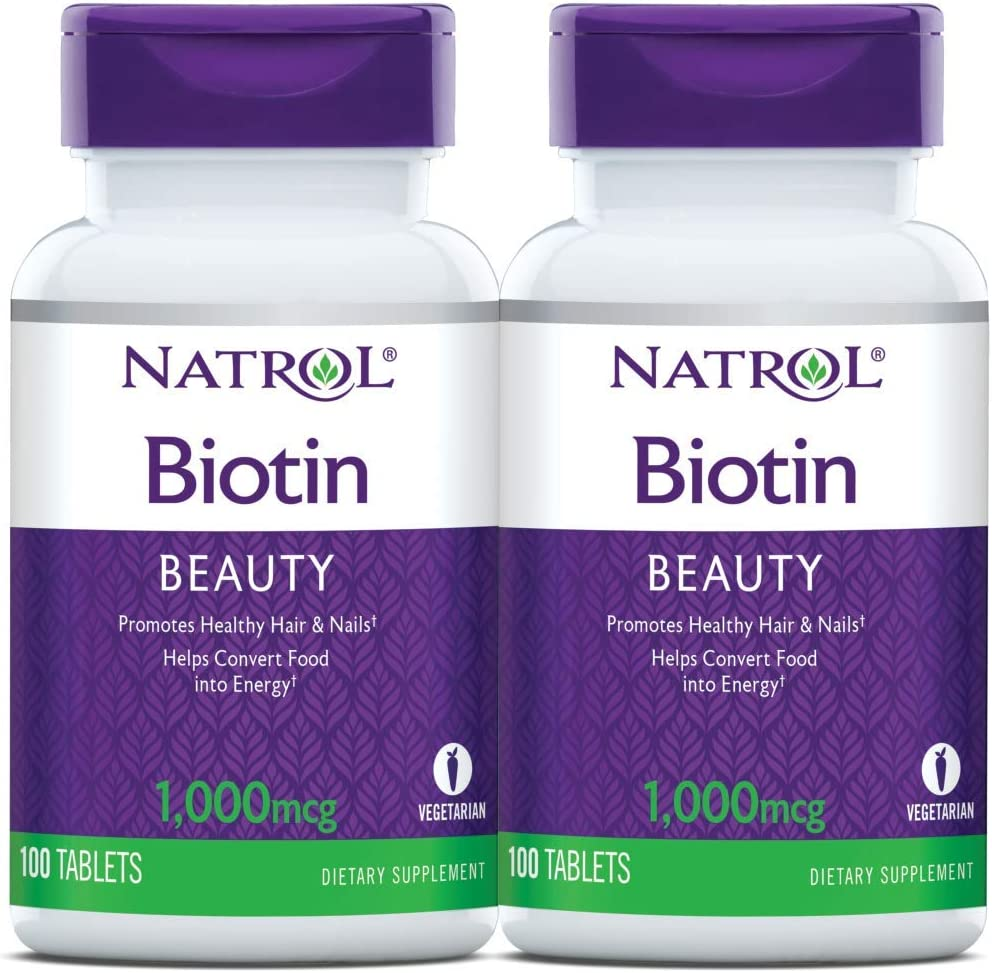 Natrol Biotin Beauty Manufacturer direct delivery Tablets Promotes Na A surprise price is realized Skin Hair and Healthy