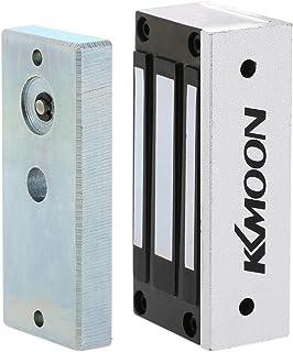 KKmoon 電気磁気ロック 60KG / 132lb NC 12V ドアエントリーアクセス制御システム用