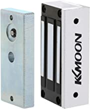 KKmoon 60KG/132lb Electric Magnetic Lock Fail Secure NC 12V for Door Entry Access Control System