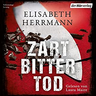 Zartbittertod                   By:                                                                                                                                 Elisabeth Herrmann                               Narrated by:                                                                                                                                 Laura Maire                      Length: 11 hrs and 30 mins     1 rating     Overall 4.0