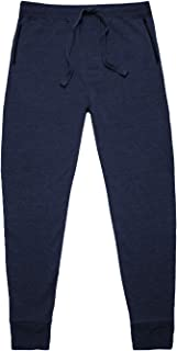 Basic Outfitters Men's Fleece Drawstring Sweatpants Jogger for Men – Activewear with Zipper Pockets, Drawstring Waistband