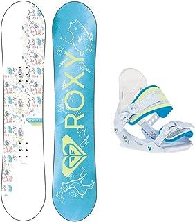 Roxy Poppy Girls Snowboard Package