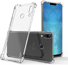 J&D Case Compatible for ZenFone 5 Case, [Corner Cushion] [Ultra-Clear] Shockproof Protective Slim TPU Bumper Case for ASUS ZenFone 5 Bumper Case - [NOT for ZenFone 5Z / ZenFone 5 Lite] - Transparent