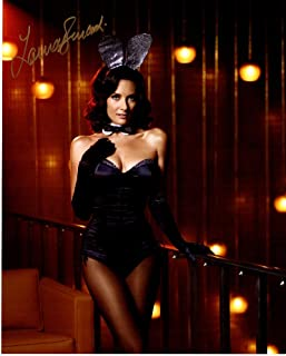 Laura Benanti Signed - Autographed Playboy Bunny 8x10 inch Photo