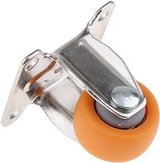D DOLITY 1 x industrieel wiel voor versterker, houders voor mobiele werkstations, 2,5 cm (1 inch)