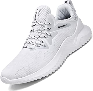 SKDOIUL Men's Tennis Shoes Mesh Breathable Sports Running Shoes