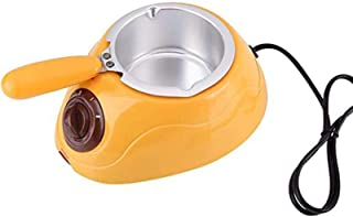 Chocolate Melting Pot,Electric Single Oven Chocolate Melting Pot Boiler Fondue DIY Heater Set,Pink