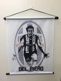 サッカー タペストリー フラッグ 46x58  アレッサンドロ・デル・ピエロ ユベントス イタリア