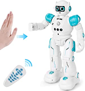 Rainbrace Smart Robot Toys Remote Control Robot,RC Robot for Kids,Robotic for Boy Toys 4 5 7 8 9 Years Old Boys Girls Kids Birthday Gift