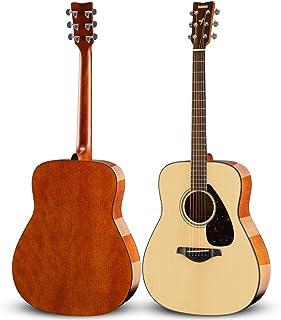 YAMAHA 雅马哈 FG800 单板民谣木吉他 41英寸 亮光原木色 ?#22270;?#21402;琴包等玩琴大礼包