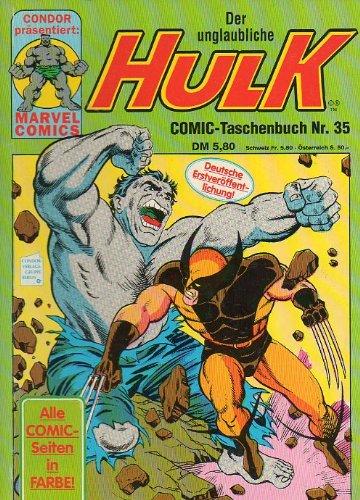 Der unglaubliche HULK Taschenbuch # 35 Condor Verlag (Der unglaubliche Hulk)