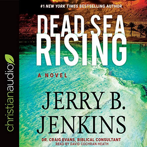 Dead Sea Rising audiobook cover art