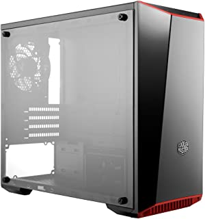 Cooler Master MasterBox Lite 3.1 Matx Tower w/Front Dark Mirror Panel, 3 Customize Color Trims & Transparent Acrylic Side...