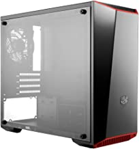 Cooler Master MasterBox Lite 3.1 Micro-ATX Tower with Front Dark Mirror Panel, 3 Customize Color Trims & Transparent Acryl...