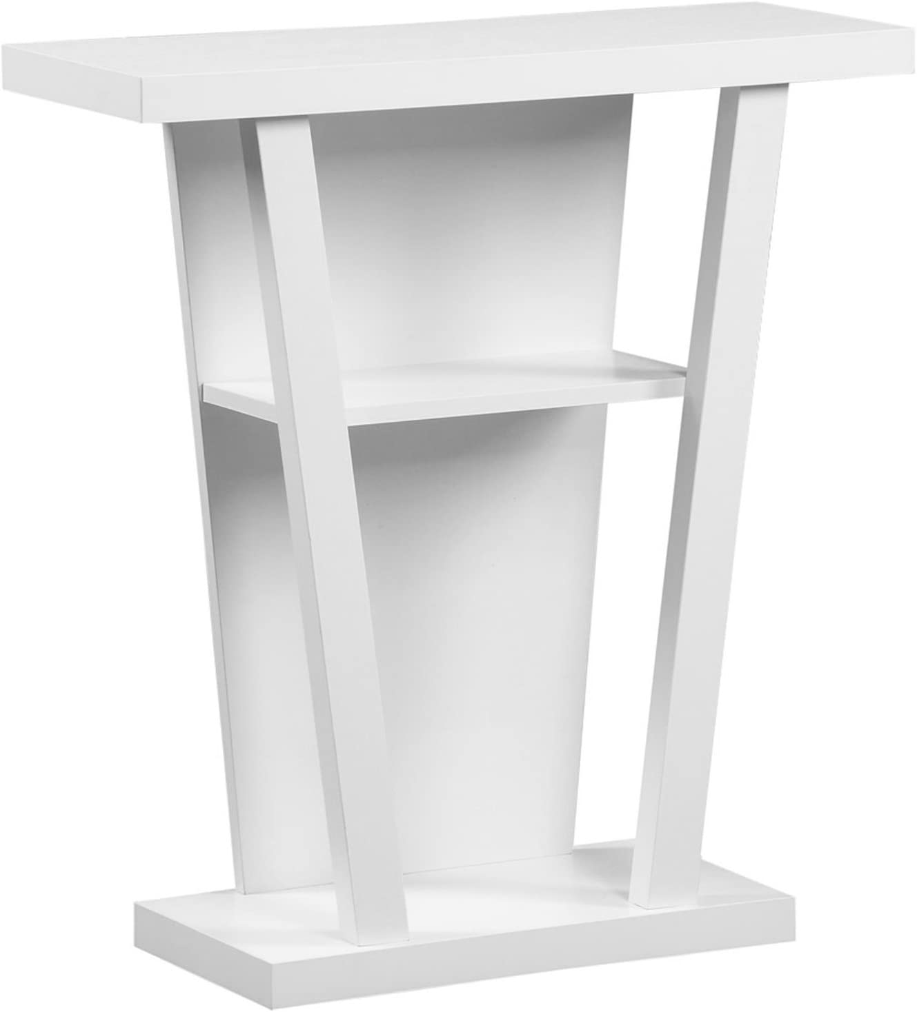 Monarch Specialties I Hall Console Accent Table, 32