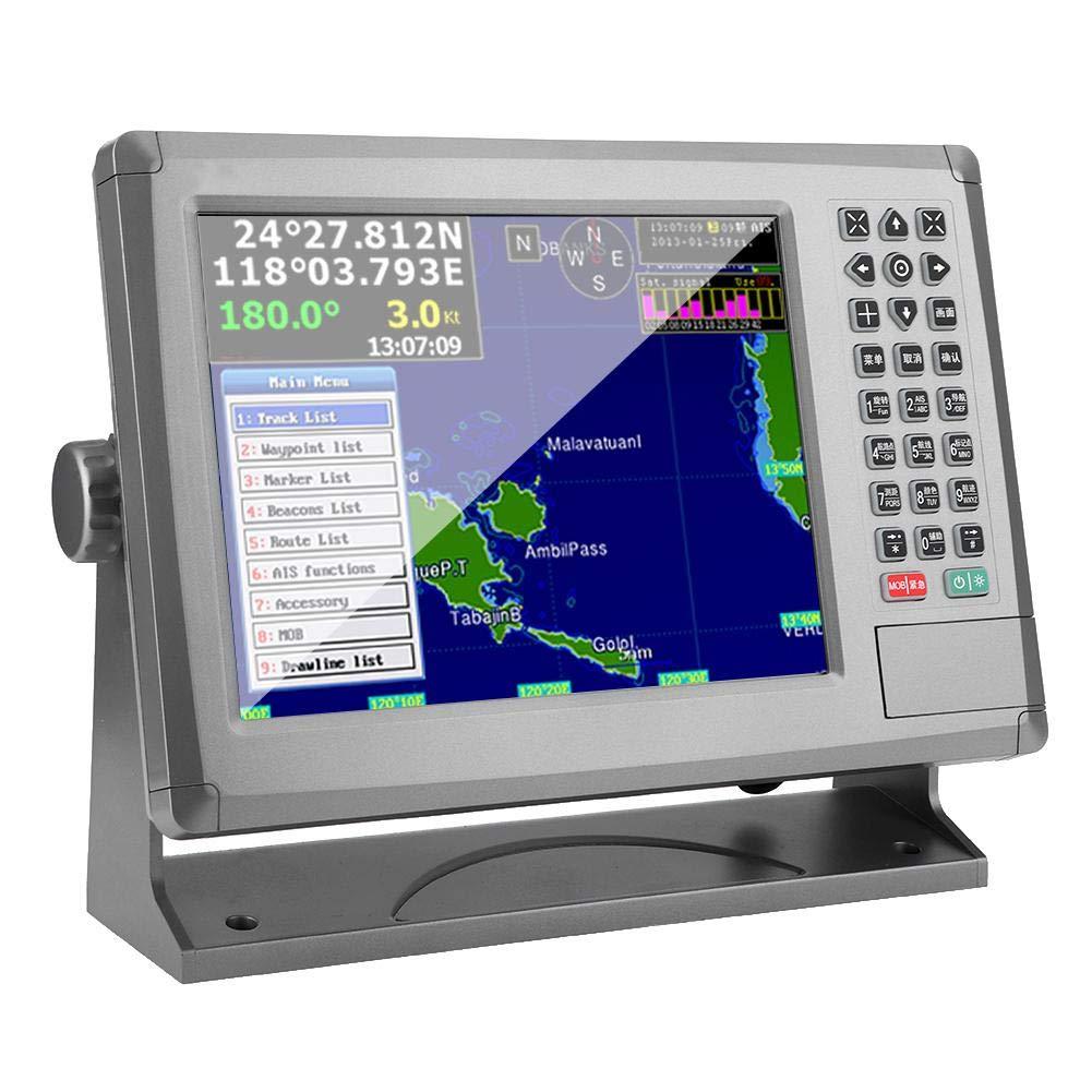 Yctze GPS marino, 10.4in 18V-36V Navegador GPS marino XF-1069B AIS Evitación de colisión Identificación automática para XINUO Accesorio de barco Modo multilingüe: Amazon.es: Coche y moto