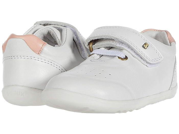 Bobux Kids  Step Up Ryder (Infant/Toddler) (White/Seashell) Girls Shoes