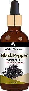 Jadole Naturals, 100% Pure & Natural Black Pepper Essential Oil 30ml
