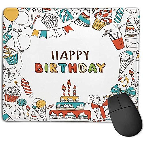 Muis Pad Verjaardag Decoraties Hand getrokken Verjaardag Snoepjes Party Blowouts presenteert Muziek Note slingers