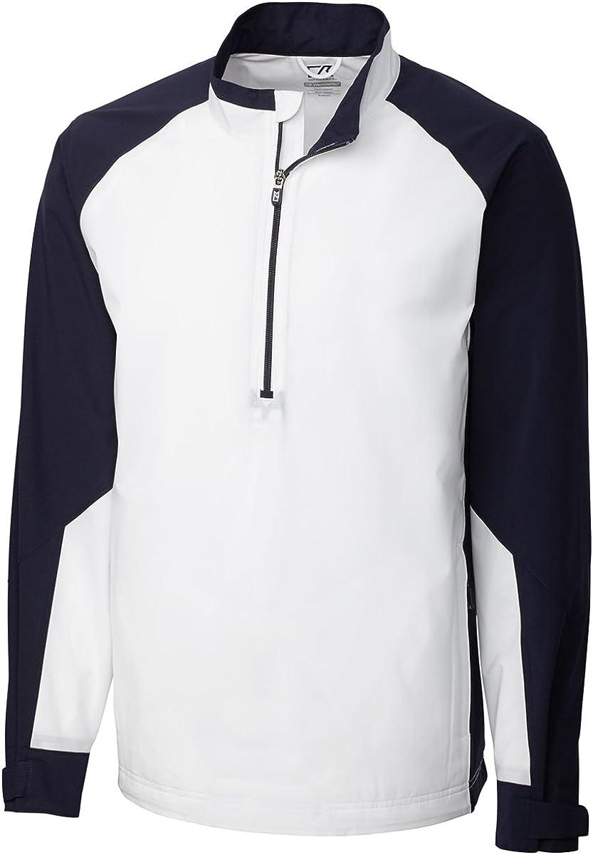 Cutter & Buck Men's Summit Long Sleeve 1/2 Zip Jacket