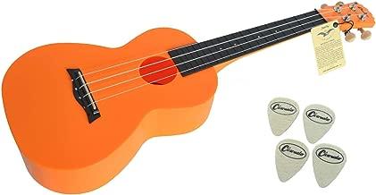 Funnyrunstore Concert Ukulele Beginner Kit con clip en el sintonizador Peso ligero Adecuado para tocar solo Cantar Karaoke de color caqui