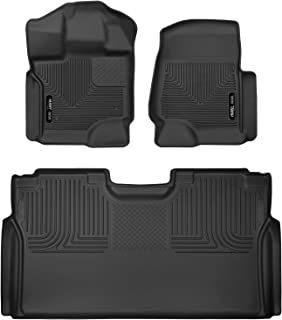 Husky Liners X-act Contour Front & 2nd Seat Floor Liners Fits 2015-19 Ford F-150 SuperCrew