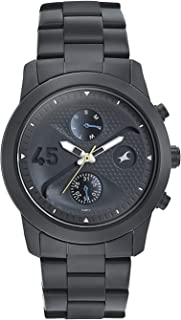 ساعة فاست تراك جو سكيت انالوج مينا سوداء للرجال -3216NM01