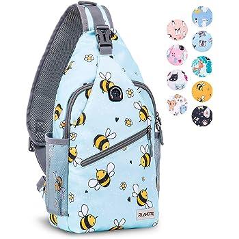 ZOMAKE Sling Backpack for Women, Small Crossbody Backpack Shoulder Bag for Travel Hiking