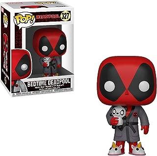 Funko Bedtime Deadpool: Deadpool x POP! Marvel Vinyl Figure + 1 Official Marvel Trading Card Bundle [#327/31118]