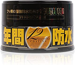 Soft99 Fusso 12 months Auto Care Waterproof Wash Coat Detailing Wax Dark Color