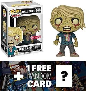spaceland Zombie (Target) Exclusivo: Funko POP. x Call of Duty Vinyl Figura + 1free Video Juegos temática de Trading Card Bundle (118552)