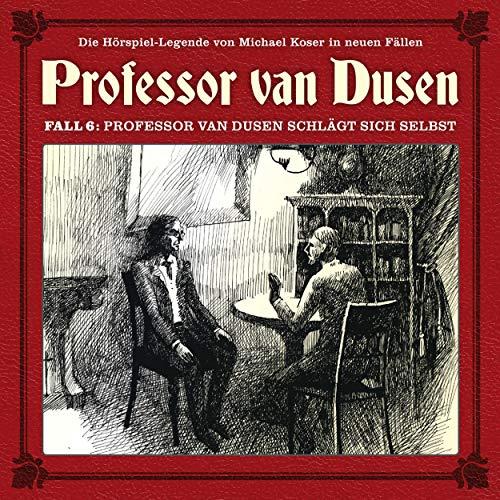 Professor van Dusen schlägt sich selbst cover art