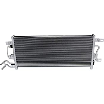 Kool Vue AC Condenser For 2010-2012 Ford Flex 2010-2015 Lincoln MKT w//drier