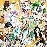 BLOUR 33pcs Creativo Carino Auto-FattoSen Femminile Fresca Bellezza Ragazza Scrapbooking...