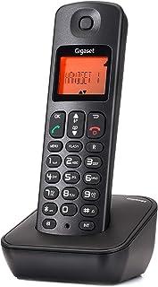 Gigaset Cordless Phone, Black - A100