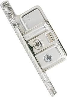 Blum ZSF.1700 R METABOX Right Screw-On Drawer Standard Front Fixing Bracket, Nickel by Blum