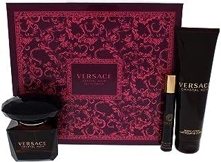 Versace Crystal Noir, 3count, Multi, 3 Piece Gift Set