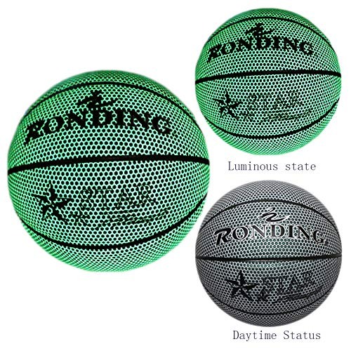 Fantastic Prices! ANBAI Basketball, Battery-Free Light Up Basketball, Fluorescent Bright After Sun S...